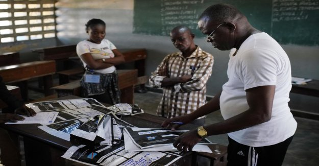 Many votes not submitted in the Congo-Kinshasa