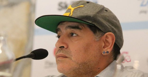 Maradona had surgery because of bleeding in the stomach