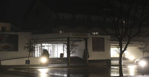 Masked men committed the robbery at casino