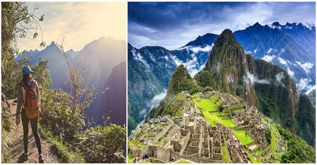 Mass tourism threatens the world heritage site of Machu Picchu