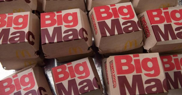 Mcdonald's loses the right to the Big Mac