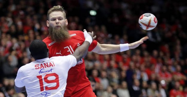 Media: the Danish profile back in the WORLD cup camp to play in the evening