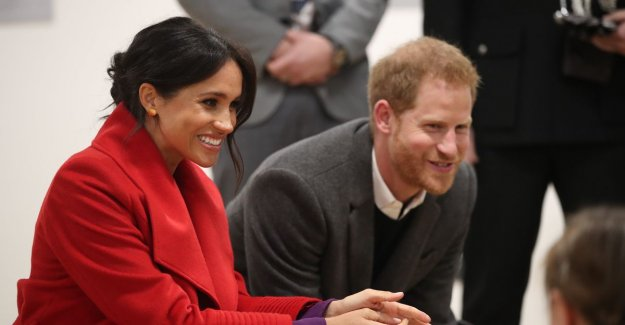 Meghan Markle in april calculated (and is now a son or daughter?)
