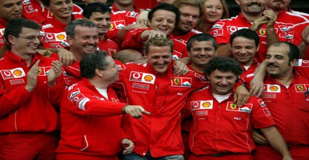 Michael schumacher's manager revealing the F1 legend's true nature - Might be stars, but you're still Kerpenin, so shut the fuck up and take a drink