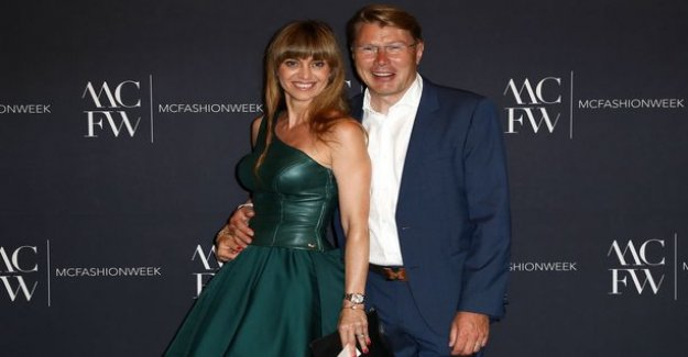 Mika Hakkinen and Marketa-the wife's dream wedding for two years - the wife from nice words for their wedding anniversary: Love can change everything
