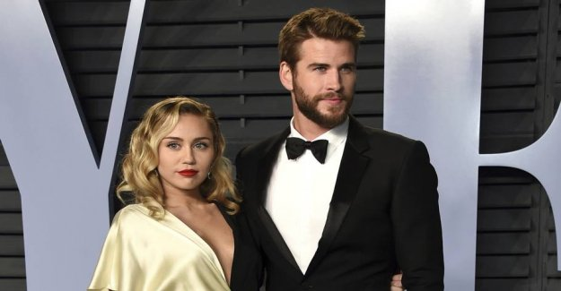 Miley's tribute to the husband goes around the world