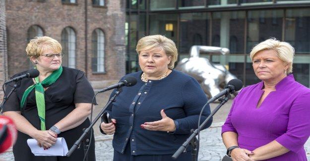Miljögräl in the Norwegian regeringssamtal
