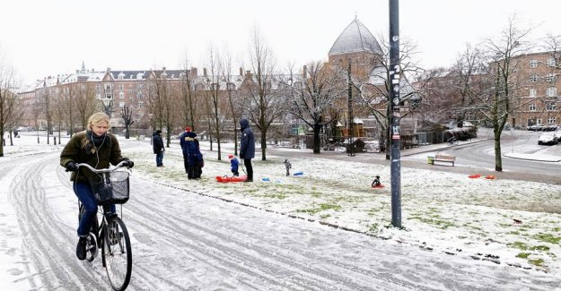 More snow on the way: Here there is most