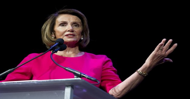 Nancy Pelosi is once again speaker of the united states
