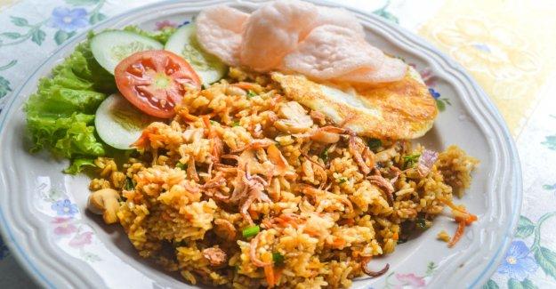 Nasi goreng – asian bubble in the pan
