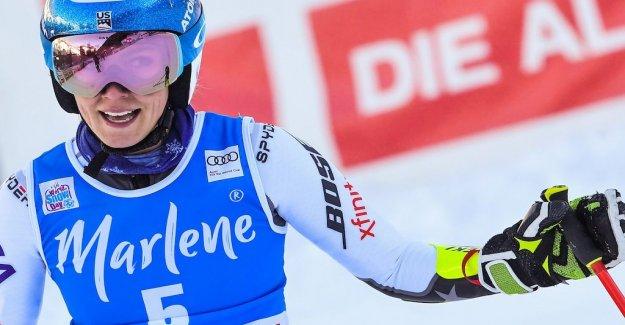 Nervous Shiffrin won big in the giant slalom
