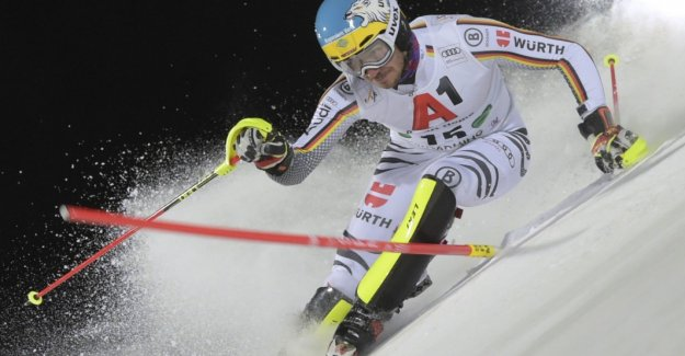 Neureuther drives in the case of Hirscher-Show on the eight rank