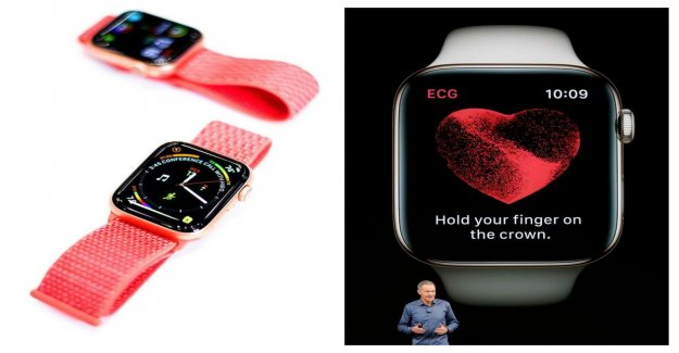 New Apple Watch 4, you can take your ECG