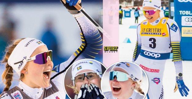 New crusher of Stina Nilsson won a sprint again