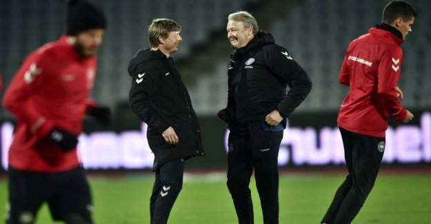 New enemies found: Football opens football year against miniput