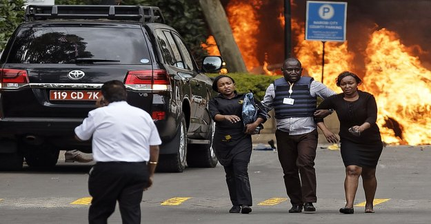 New explosions after the terror attack in Nairobi