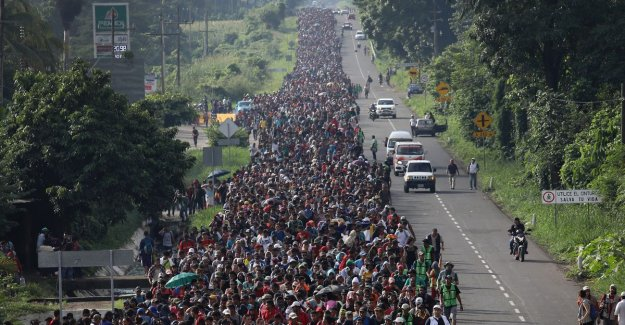 New migrantenmars in the direction of Mexico and USA? 15,000 people to leave soon in Honduras