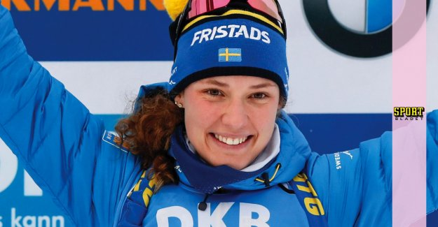New success for Hanna Öberg in Ruhpolding