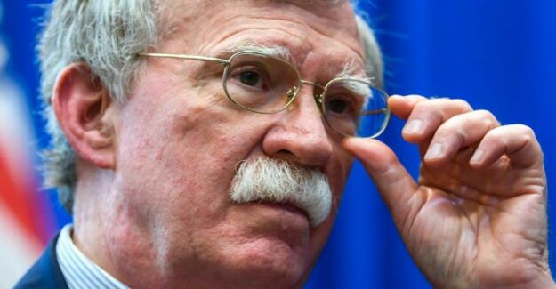 Newspaper report : safety consultants Bolton left attack on Iran, check