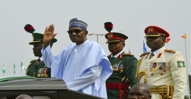 Nigeria's Buhari: Healthy enough for four years to