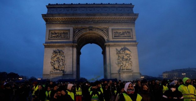 Ninth week – and every frenchman thinks the protests should continue