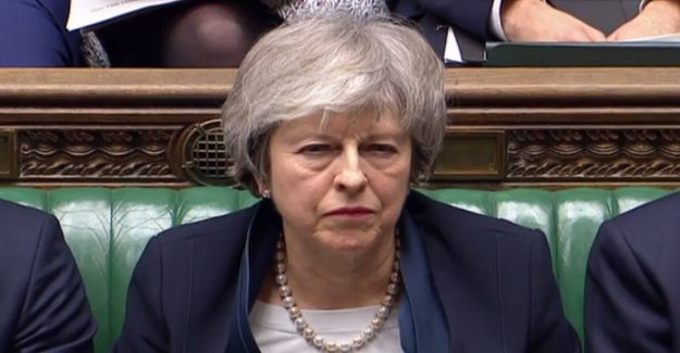 No to Brexitavtalet – historic loss for May