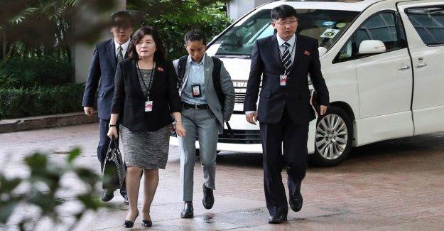 North Korean top diplomat to visit Sweden