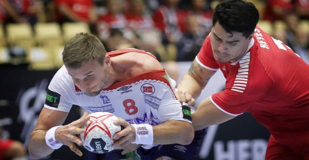 Norway's captain says it: Denmark is gold-favorite!