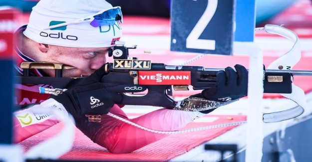 Norwegian brothers nabbed a double victory in the men's biathlon in Finnish difficult