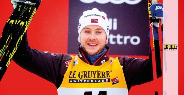 Norwegian success in herrsprinten – favourite disqualified