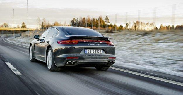 Norwegians stocking up on their Porsche