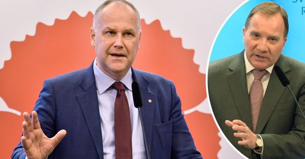 Not fair to the Löfven voted as prime minister on Wednesday