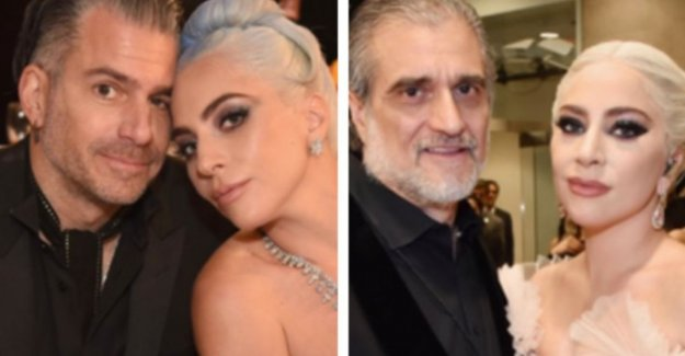 Notable: fiance of Lady Gaga as like as two drops of water... her father