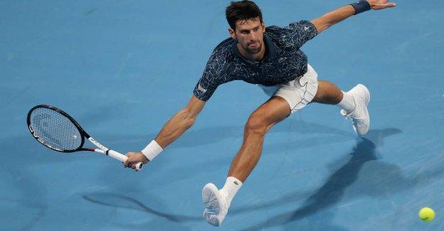 Novak Djokovic sent out in the semi-final