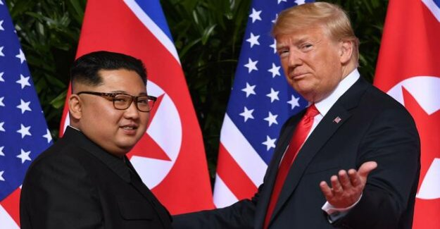 Nuclear disarmament : Trump: relationship to North Korea is almost never