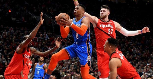 Oklahoma City takes full loot in NBA, LA Lakers lose again