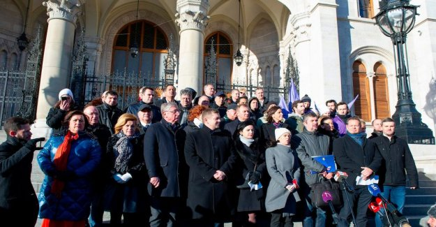 Opposition to the Orbán unites socialists and extremhöger