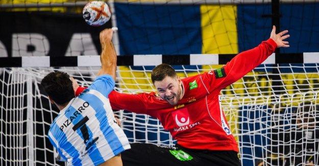 Palicka and Sweden impressed against Argentina