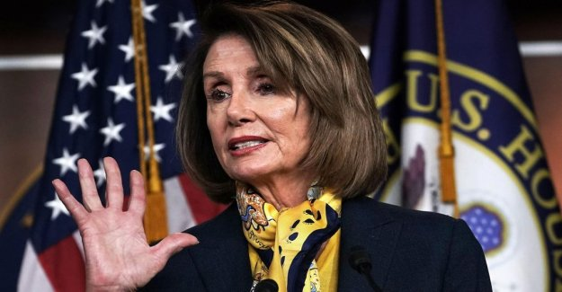 Pelosi let the Trump give a speech to the nation