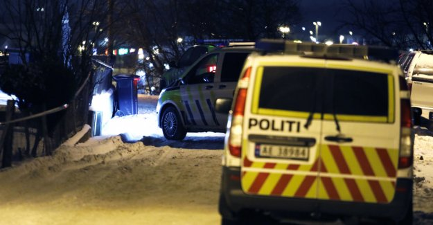 Police hunt gjerningspersoner after shooting in Sarpsborg