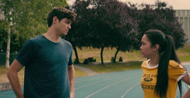 Protagonists from 'To All The Boys I've Loved Before' have a contract which states that they are not in love with may be