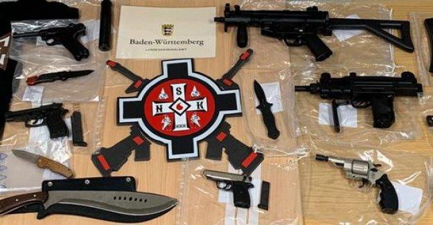 RAID against people suspected of Ku Klux Klan-the group