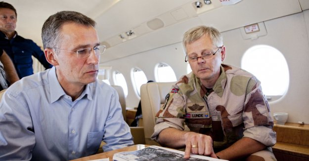 Requires that Stoltenberg's meetings in the Parliament: – A disaster