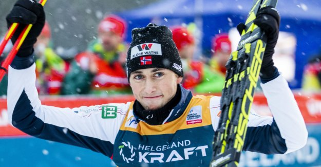 Riiber took the season's fifth victory