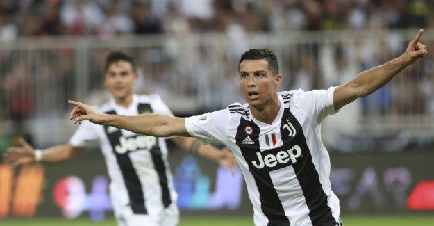 Ronaldo ruled the oil supercup