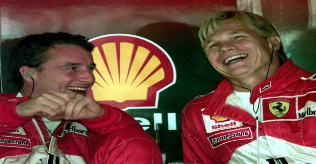 Rude text! Mika salo's Ferrari team mate roimi by Sebastian Vetteliä – Overrated one trick show pony