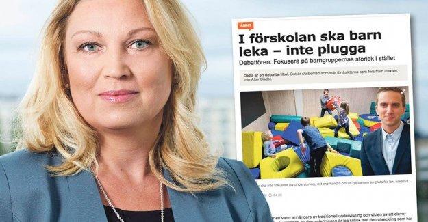 Rude to the teachers in the preschool Skogstad