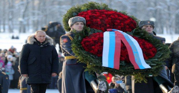 Russia commemorates the end of the Leningrad Blockade