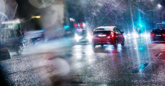 SMHI warns of sudden ishalka – many cars spinning of the track