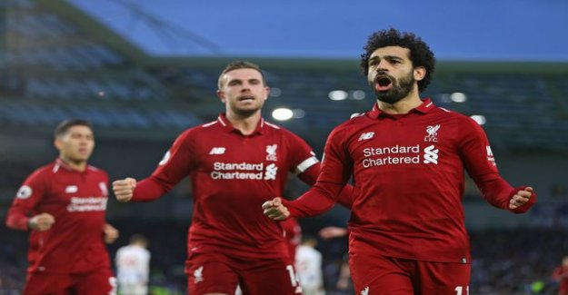 Salah solved rankkarilla – Liverpool for a long time stuck in Brighton-the wall in the middle of the